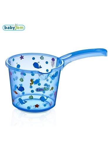 Babyjem Bebek Banyo Maşrapası Şeffaf Desenli -Baby Jem